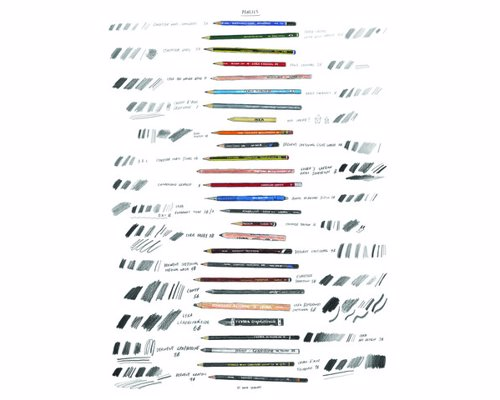 Pencils Print By David Sparshott