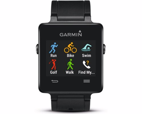 Garmin Smart Sports Watch - Ultra-thin GPS smartwatch with built-in activity tracking sports apps for running, biking and golfing, swimming and more