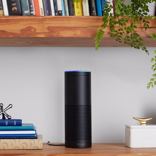 Amazon Echo - Siri For Your Home - Voice activate you home to play your music, answers questions, reads audio books, give traffic and weather reports, control lights and heating