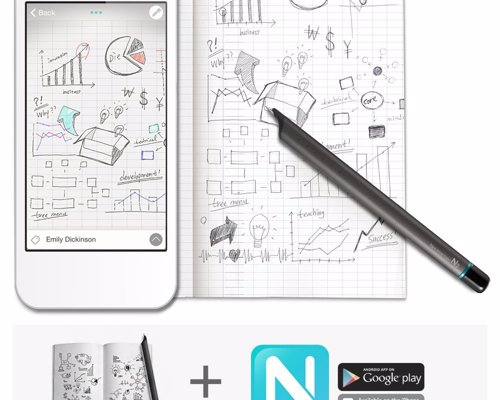 Neo N2 Smartpen - Draw or write notes with this smart pen and they are automatically synced to your phone, and apps such as Google Drive and Evernote
