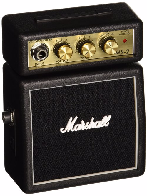 Mini Marshall Guitar Amp - Marshall mini amps, though small, pack a punch, are very cool, portable and no guitarist should be without one