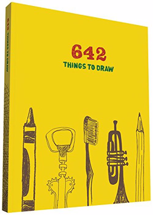 642 Things to Draw Journal - A rolling pin, a robot, a pickle, a water tower.. offbeat, clever, and endlessly absorbing drawing prompts for budding artists and experienced sketchers alike