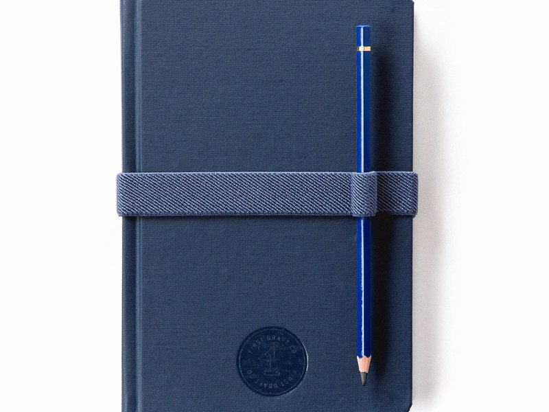 First Draft Notebooks - Hardbound and cloth covered, this notebook feels just as good in your hand as the paper feels under pencil