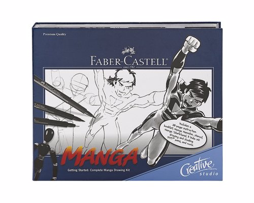 Manga Drawing Starter Kit - Everything you need to learn how to draw Magna characters and backgrounds, create scenarios and develop Magna layouts