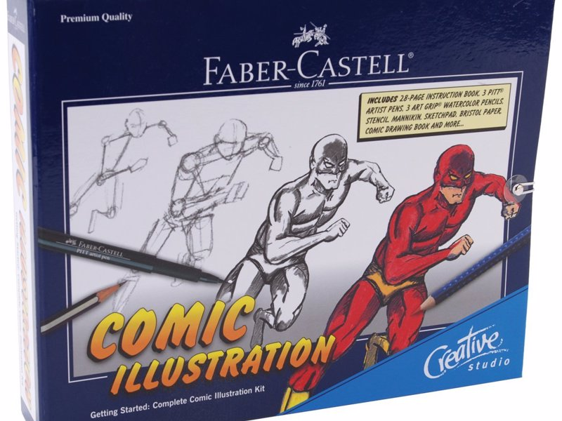 comic drawing starter kit expertly chosen gifts