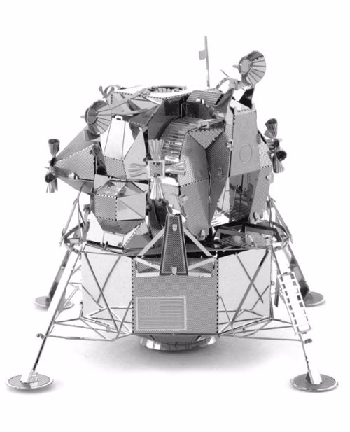 Space Themed Metal Modelling Kits - 3D model kits for the Apollo Lunar Module, Space Shuttle Endeavor, Hubble Telescope and more