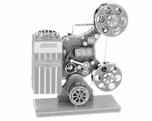 Movie Projector Metal Modelling Kit - Create a miniature metal movie projector