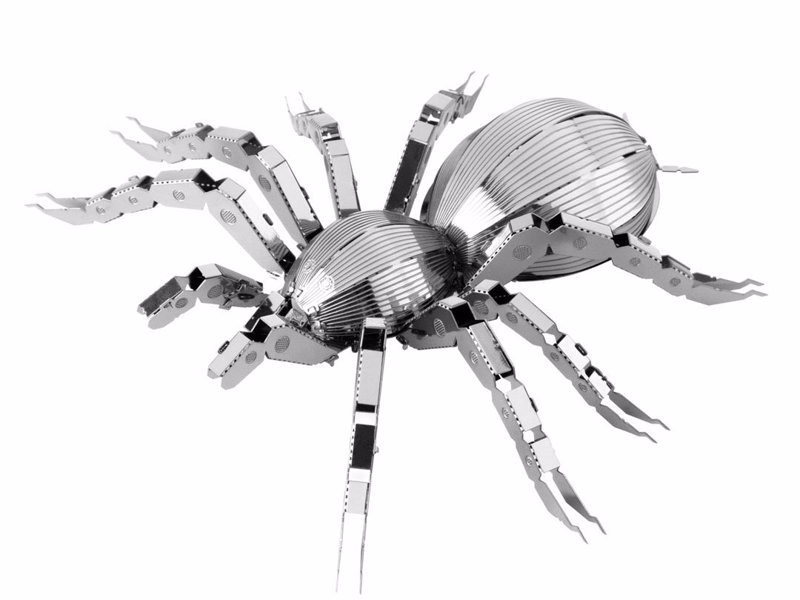 Tarantula Metal Modelling Kit - Create a miniature metal Tarantula