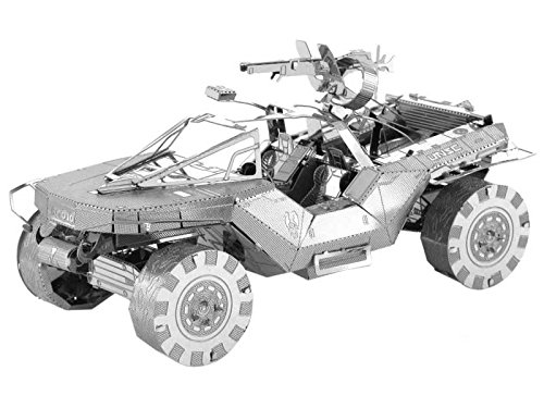 Halo Themed Metal Modelling Kits - Miniature modeling kits themed on the Xbox Halo franchise