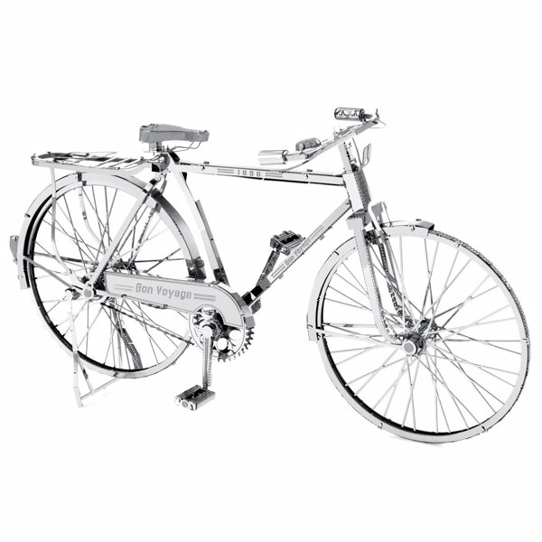 Bicycle Metal Modelling Kits - Miniature modelling kits for a classic Bon Voyage Bicycle or a Penny Fathing