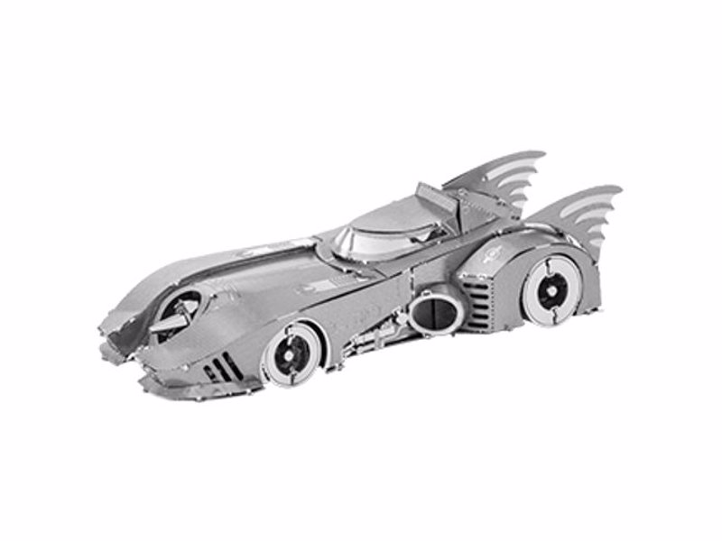 Batman Themed Metal Modelling Kits - 3D model kits for Batmobiles, Batwings and the Bat-Signal