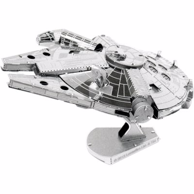 Star Wars Metal Modelling Kits - 3D model kits for the Millennium Falcon, X-Wing, AT-AT, Tie Fighter, Droids and many more
