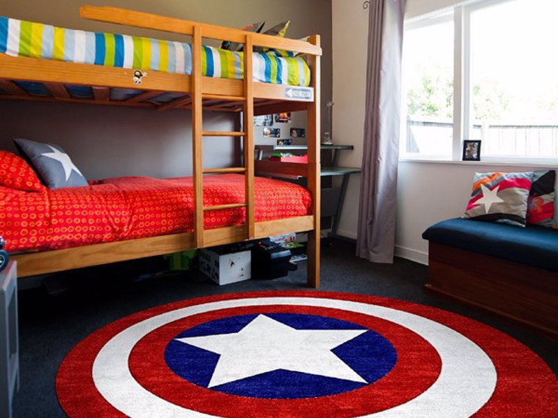 Captain America Rug Expertly Chosen Gifts