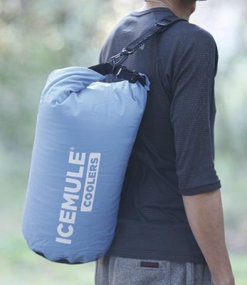 Portable Ice Cooler - World's most portable cooler, perfect for camping, kayaking, boating, the beach, when a box cooler is too bulky