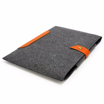 Lavievert Felt Laptop Sleeve - High quality, durable felt and leather laptop bags that keep your precious devices free from dust and scratches