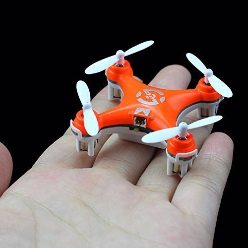 Mini Quadcopter Drone - Get ready to race your friends with this tiny nano quadcopter drone - it may be tiny but it's huge fun