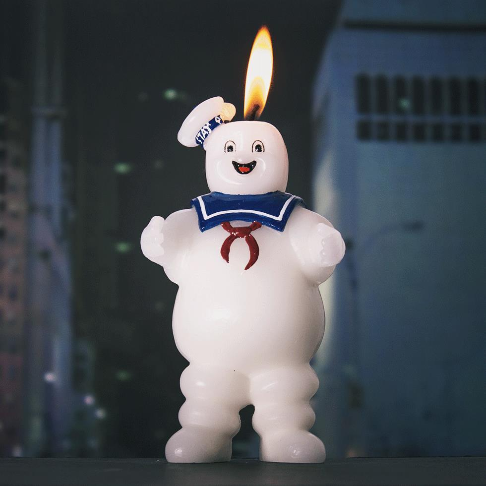 Stay Puft Candle - A candle replica of everyone's favorite Ghostbusters bad guy