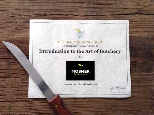 Art of Butchery Classes - 2 ½ hour 100% hands on meat crash course from a family with four generations and 60 years of butchery expertise