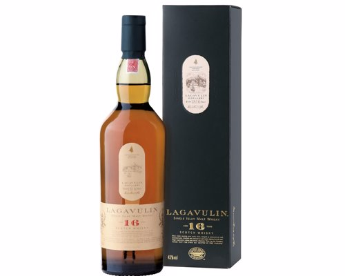 Lagavulin 16 Islay Single Malt - A complex, peated single malt scotch that should be in every self respecting whisky geeks home bar