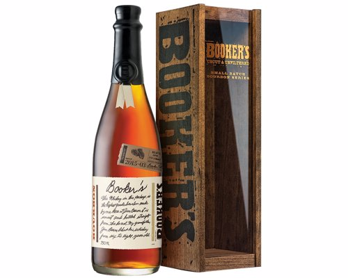 Booker's Small Batch Bourbon - A Uncut and unfiltered Kentucky Straight Bourbon Whiskey sure to knock your socks off