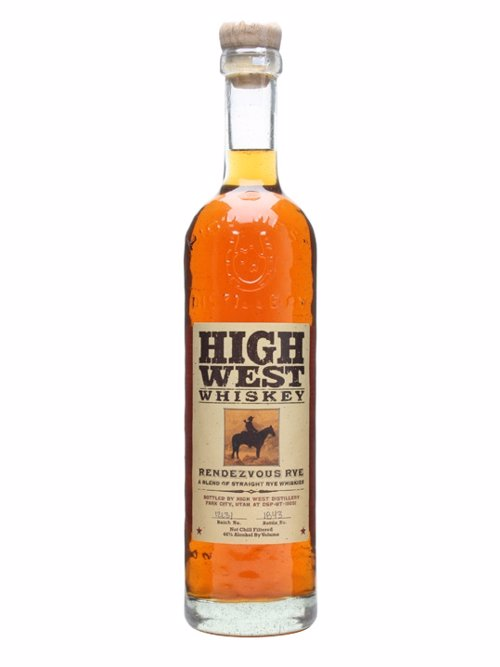 High West Rendezvous Rye - Expertly blended young and old Straight Rye Whiskey - the sum is greater than the parts