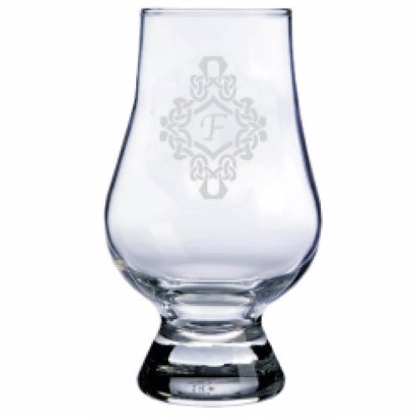 Personalized Glencairn Whiskey Glass - What is more personal than a custom laser etched Glencairn Glass?