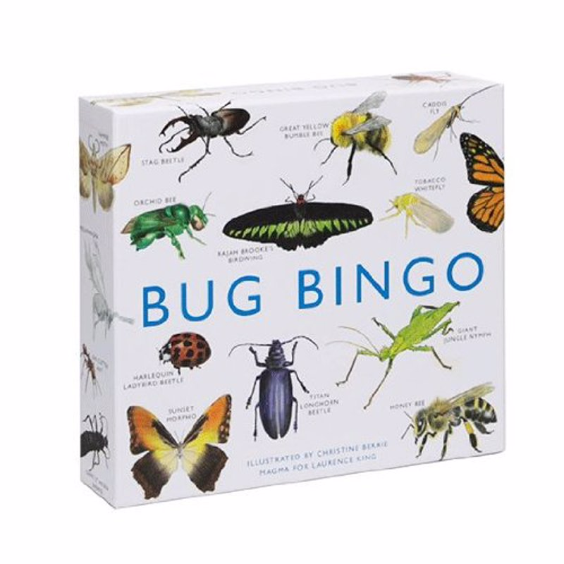 Bug Bingo - This beautifully illustrated bingo game features 64 species of bugs from around the world.