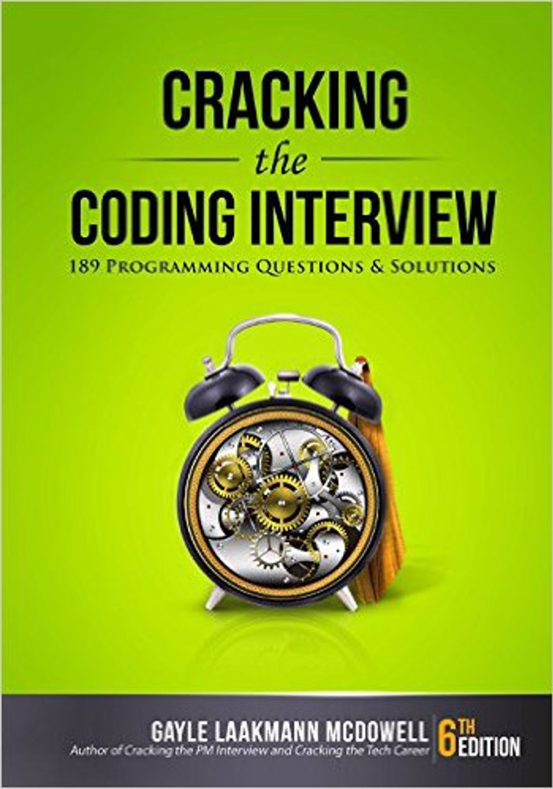 Cracking the Coding Interview - Problems and solutions to interview questions asked by big tech companies