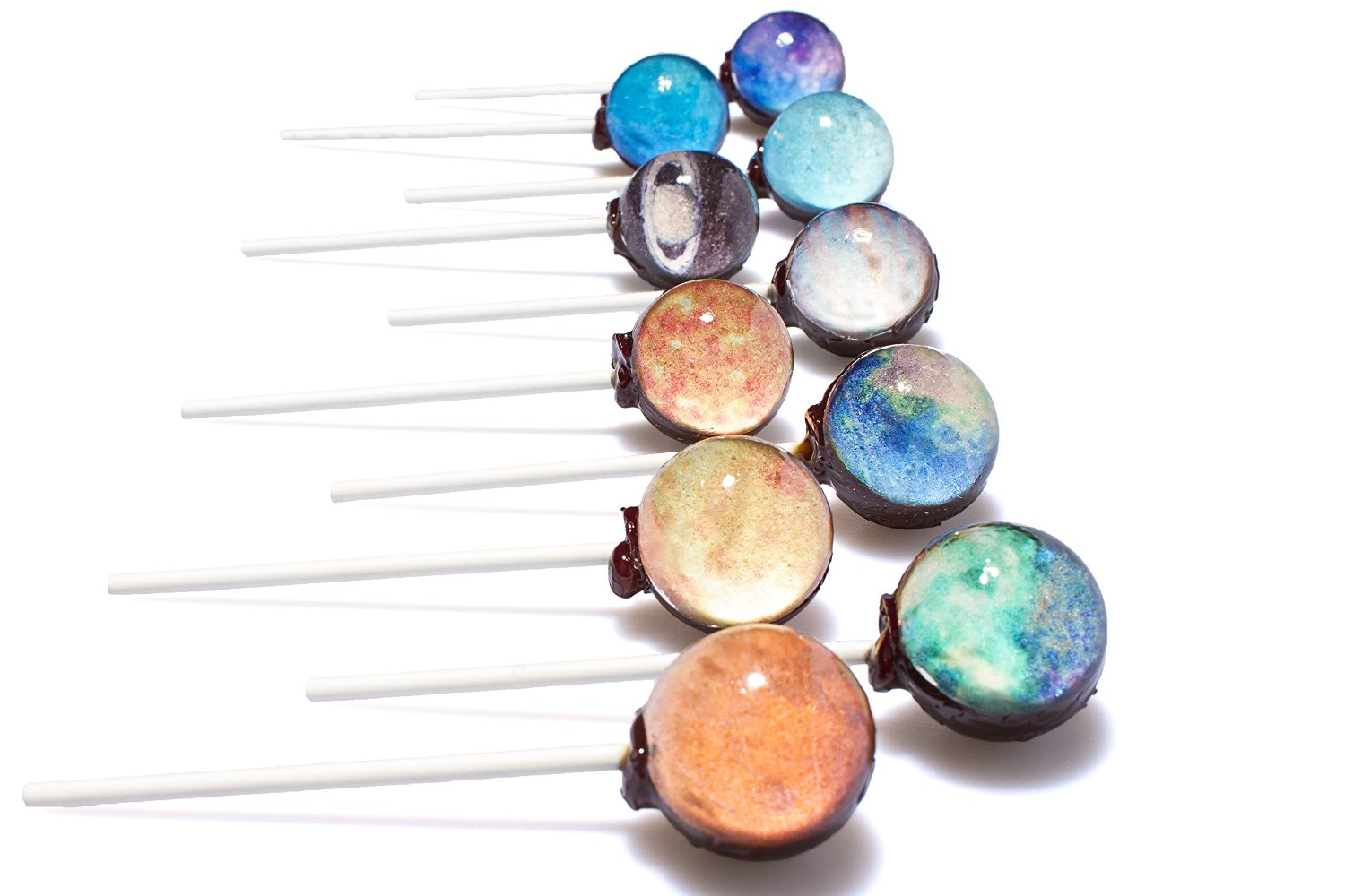 Planet Lollipops - A solar system of edible treats!