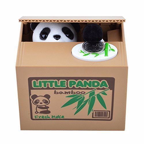 Itazura Panda Coin Bank - One of the most adorable coin banks in the world