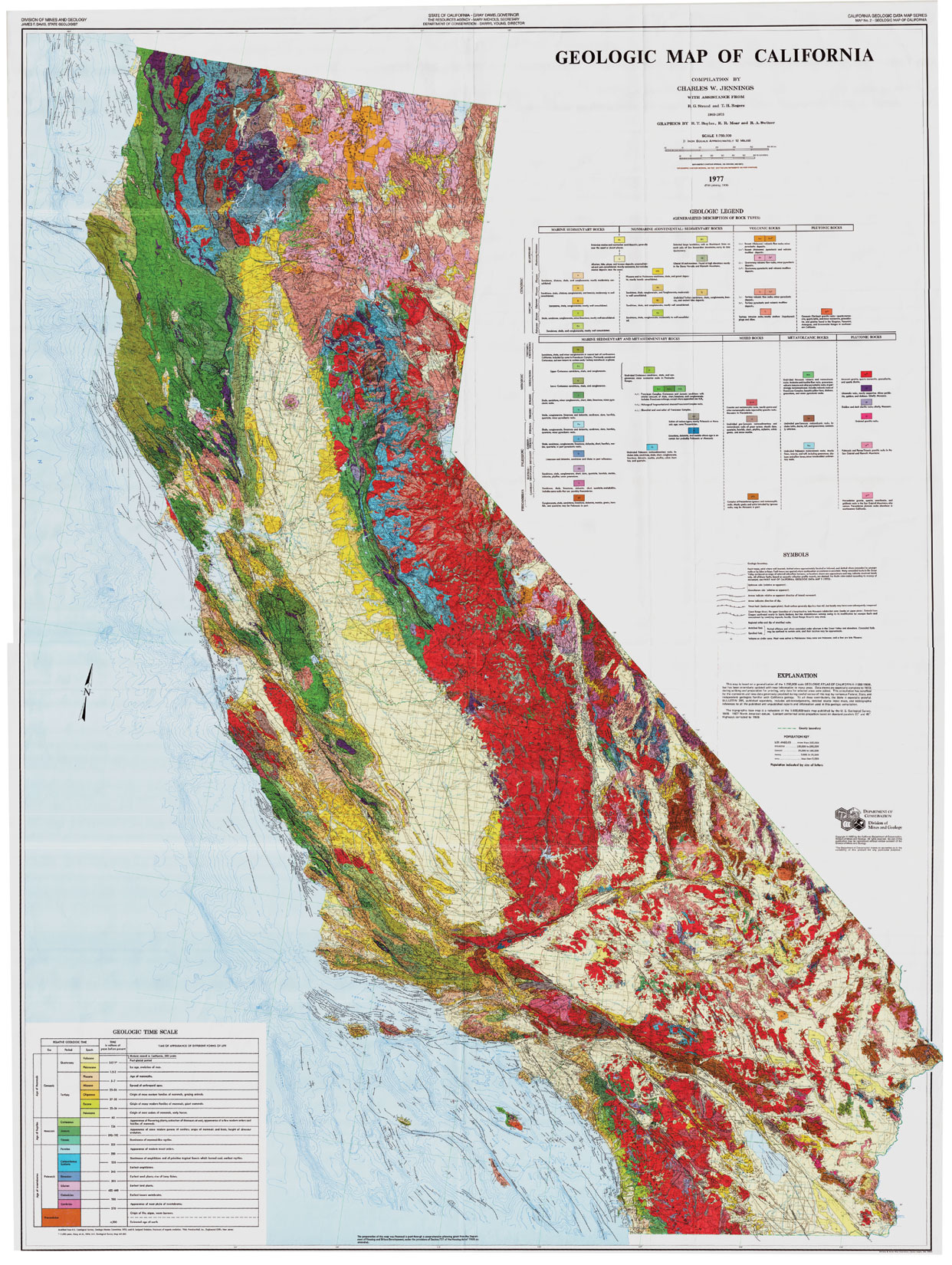 Rockhounding California Map.State Specific Mineral Maps Expertly Chosen Gifts
