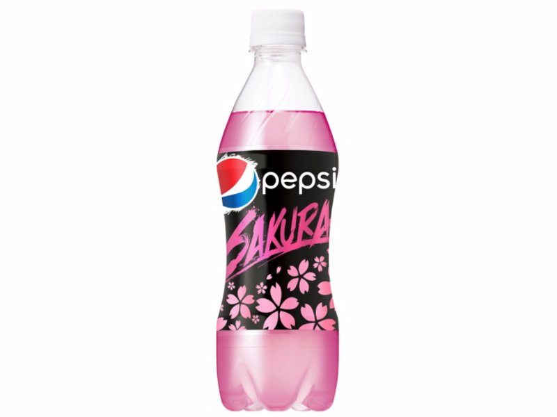 Japanese Cherry Blossom Pepsi - Japan-exclusive cherry blossom-flavored Pepsi drink. Japan is known for its unique drink flavors. Now you can join in!