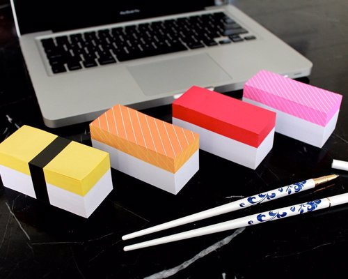 Sushi Sticky Memo Pads