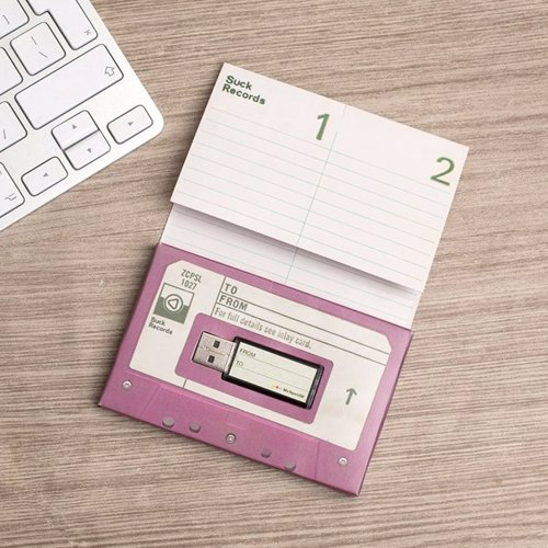 Design Your Own USB Mixtape - Fill up this USB with a personalised playlist and pop it back into its cassette tape case for a thoughtful old school gift