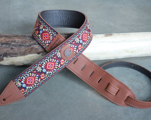 Beautiful Handmade Guitar Straps
