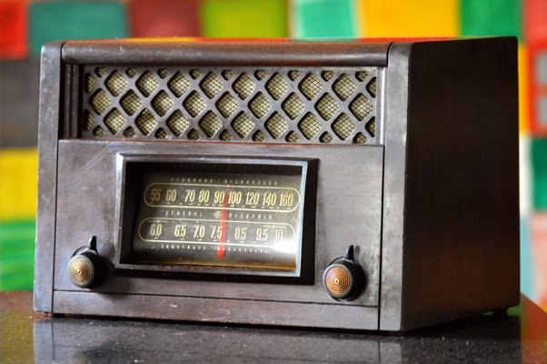 Upcycled Vintage Radios With Bluetooth - Get the retro look with modern features with these vintage radios updated with Bluetooth and mp3 inputs