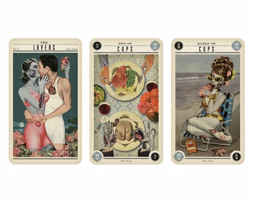 Zombie Tarot Cards - Delightfully funny, stylish and weird tarot cards made to amuse your friends and guide your future