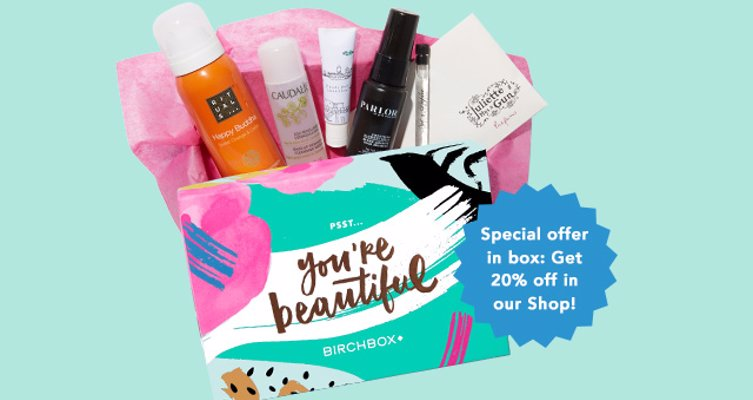 Birchbox Beauty Box Subscription - Personalized beauty samples delivered right to your door each month.