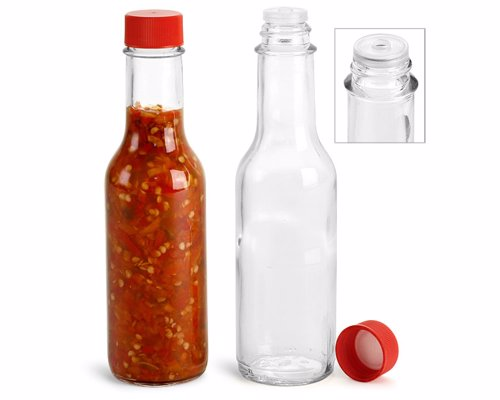 Bottles For Homemade Hot Sauce - These empty glass hot sauce bottles are the perfect containers for your homemade heat