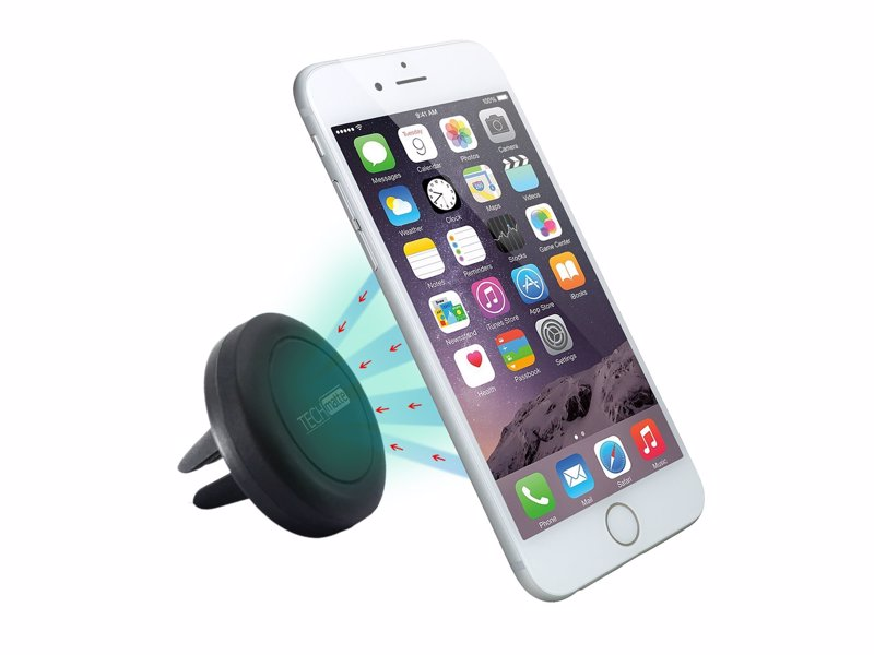 Magnetic Car Phone Mount - Attractively simple way to mount and unmount your phone in your car with ease