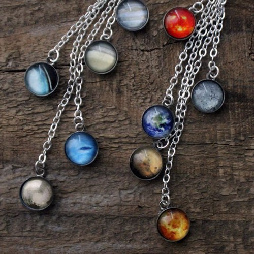 Planet and galaxy Jewelry - Unique space and galaxy jewelry using Hubble images of the cosmos on rings, pendents, bracelets, earrings and more