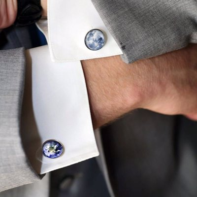 Galaxy and Space Cufflinks