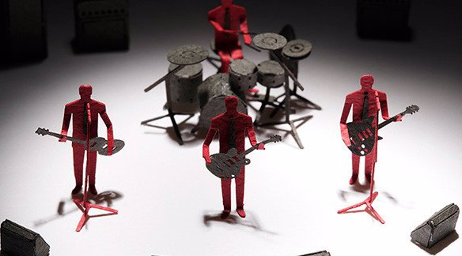rock paper band