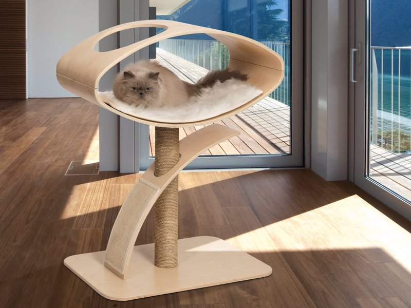 Vesper Cat Furniture - Elegant yet practical line of cat furniture that satisfies the daily activity needs of fussy felines
