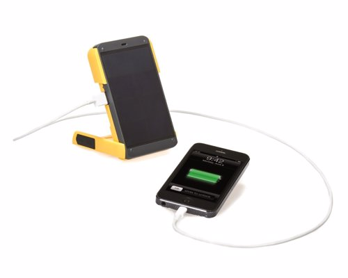 WakaWaka Solar Charger and Flashlight - Durable, lightweight solar charger capable of charging virtually any smartphone or small electronic device within just a few hours
