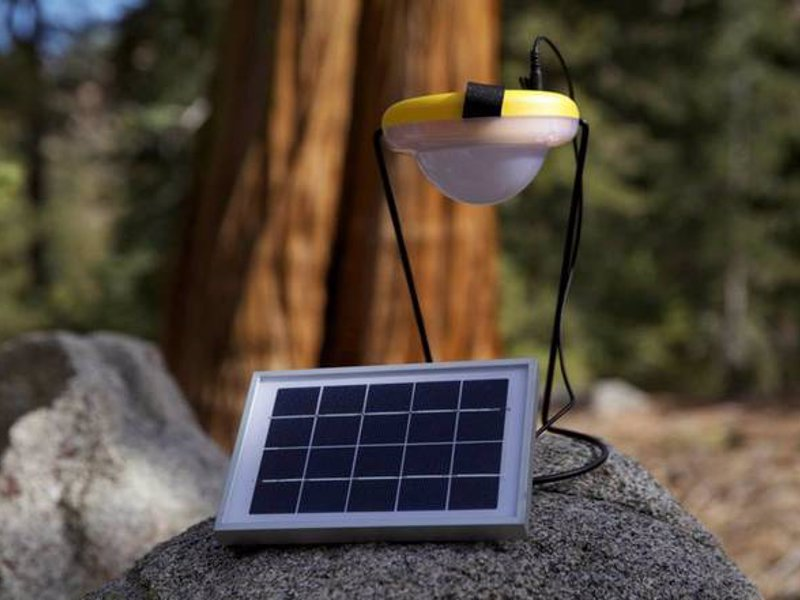 Sun King Pro Portable Solar Lantern and USB Charger - One of the best solar lamps available with a USB charger and 45 hours of light