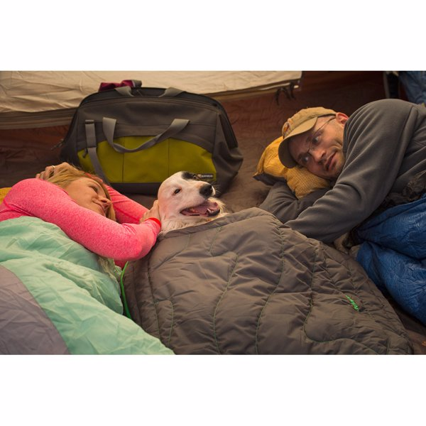 Ruffwear Dog Sleeping Bag - A cozy, warm dog-specific sleeping bag so your pooch can be just as comfortable as you out in the woods