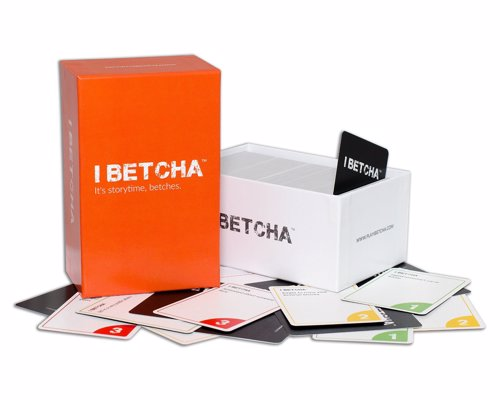 IBETCHA - The ultimate party game - Cards Against Humanity meets Never Have I Ever in this hilarious party game that gets people to tell their most epic stories
