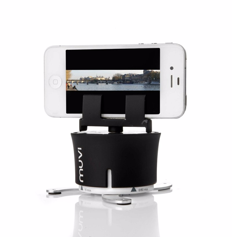 360 Degree Timelapse Mount - Take stunning 360 timelapse videos from your phone or compact camera