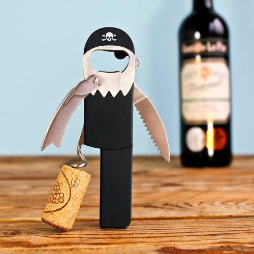 Legless Pirate Corkscrew - Forget Blackbeard, Legless is the hardest working pirate in the bar